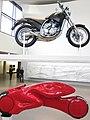 Pinakothek der Moderne. Bikes (6932846041).jpg