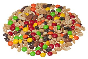 Trail mix - Planters-brand trail mix