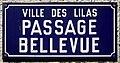 Plaque Passage Bellevue - Les Lilas (FR93) - 2021-04-27 - 1.jpg
