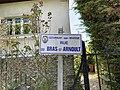 Plaque Rue Bras Saint Arnoult - Gournay-sur-Marne (FR93) - 2021-04-24 - 2.jpg