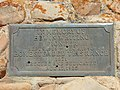Plaque on the Edwin Whiting monument, Hobble Creek Canyon, Sep 16.jpg