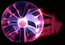 Plasma lamp touching.jpg