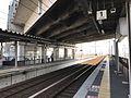 Platform of Shin-Yatsushiro Station (Kagoshima Main Line) 1.jpg