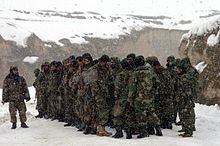 Platoon of ANA soldiers at a rescue operation in 2005.jpg