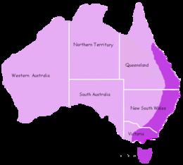 Platypus Distribution.png