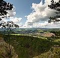 Plaue (Thüringen) von der Kanzel aus gesehen.jpg