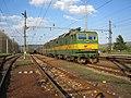 Plaveč, nádraží, vlak s lokomotivou 131.065+066.jpg