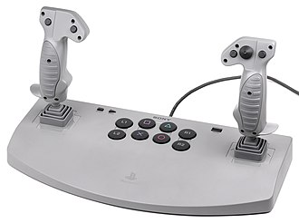 Game controller - A dual-joystick controller for the original PlayStation
