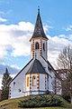 Poggersdorf Wabelsdorf Filialkirche hl. Georg Ost-Ansicht 03012019 5787.jpg