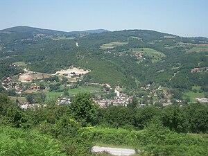 Krupa na Vrbasu - Image: Pogled na Krupu na Vrbasu