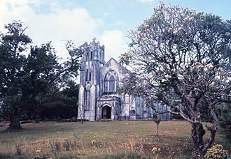 Religion in the Federated States of Micronesia - Catholic church in Kolonia, Pohnpei