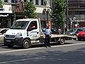 Policeman in Bucharest.JPG