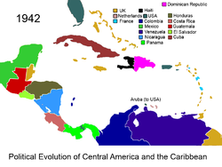 Political Evolution of Central America and the Caribbean 1942 na.png