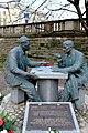 Pomnik Henryka Sławika i Józsefa Antalla w Warszawie 01.jpg