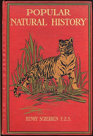 Henry Scherren - Front cover of Popular Natural History, 1906