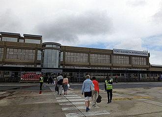 Port Elizabeth Airport - Port Elizabeth Airport, Terminal Building