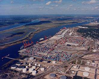 Iron Man 3 - The Port of Wilmington served as the location for the climactic oil tanker battle.