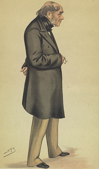 Henry Bessemer - Drawing of Bessemer by Leslie Ward in Vanity Fair, 6 November 1880