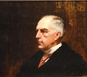 Frederick DuCane Godman - Portrait of Frederick Du Cane Godman, c. 1909, by Leon Sprinck