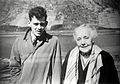 Portrait of Melanie Klein and Michael, 1958 Wellcome L0018666.jpg