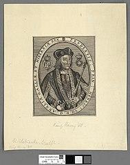 Prudentis : Prin : Henryc. VII. D.G. Angliae Galliae et Hiberniae Rex