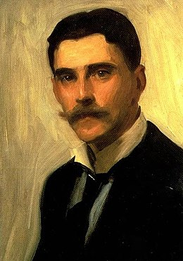 Portrait of Robert Brough by John Singer Sargent (detail).jpg
