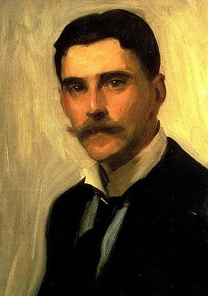 Robert Brough - Portrait of Robert Brough (c. 1900), by John Singer Sargent (detail)
