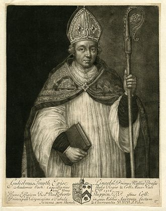William Smyth - Image: Portrait of William Smith founder of Brasenose College Oxford by John Faber the Elder