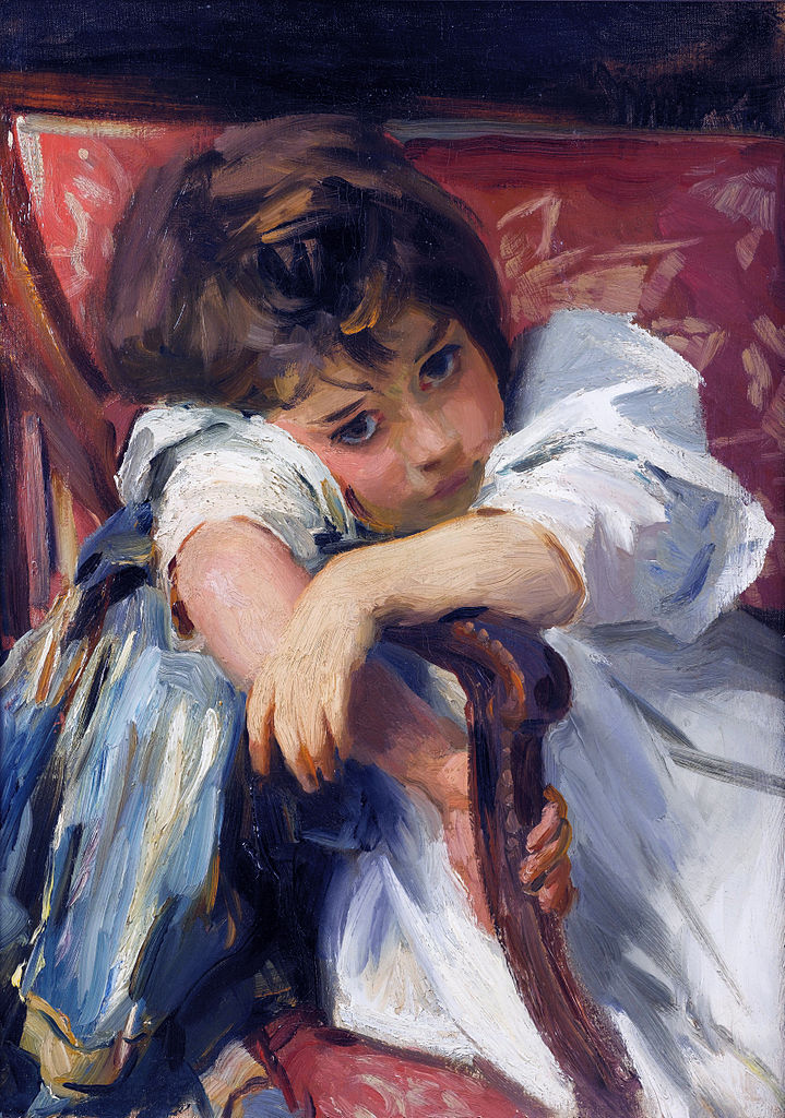 Px Portrait Of A Child C By John Singer Sargent