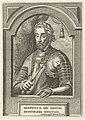 Portret van Hendrik II, koning van Frankrijk Theatrum pontificum, imperatorum, regum, ducum (serietitel), RP-P-1910-2310.jpg