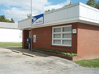 Bethpage, Tennessee - Post office in Bethpage