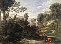 Poussin, Nicolas - Landscape with Diogenes - c. 1647.jpg