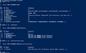 Windows Registry - Using PowerShell to navigate the registry