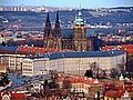 Pražský hrad od Petřína 1.jpg