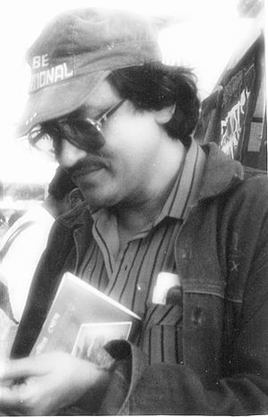 Prabir Ghosh - Ghosh at a book fair in Kolkata
