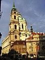Praha St Nicholas from Mostecka DSCN1192.JPG