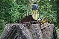 Prełuki fragment cmentarza prawosławnego 30.08.2010 detal p.jpg