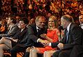 Premier Donald Tusk, Małgorzata Tusk, Marszałek Sejmu Grzegorz Schetyna (5825456869).jpg