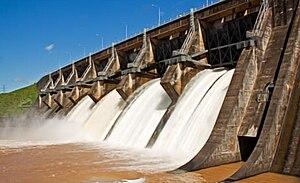 Acaray Dam - Image: Presa Acaray Paraguay