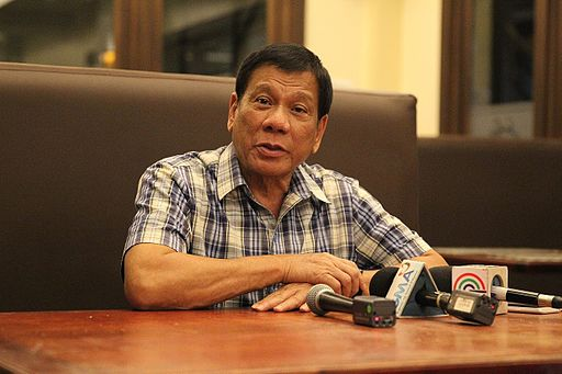 President Rodrigo Duterte 080816