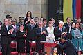 Presidentes en la Posesión de Juan Manuel Santos.JPG