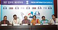 Press conference by Pradip Kurbah, Director and Merlvin Mukhim, Actor of the Khasi film 'RI' (Homeland) and Sudeshna Roy and Abhijit Guha, Director of the Bengali film 'THE JODI LOVE DILE NA PRANE'.jpg
