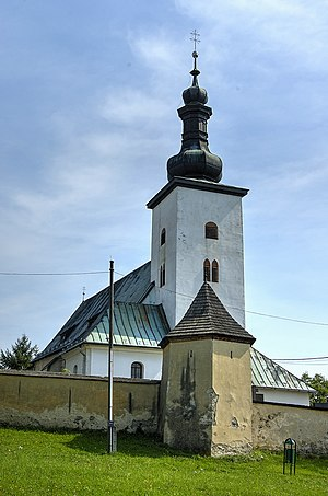 Prievidza - The oldest church in Prievidza, built in 1260