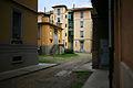 Primo quartiere popolare via Solari Cortile del padiglione.jpg