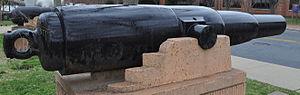 70-pounder Whitworth naval gun - Image: Princess Royal Gun Profile