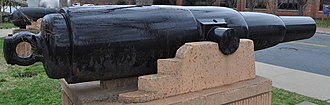 70-pounder Whitworth naval gun - Image: Princess Royal Gun Profile