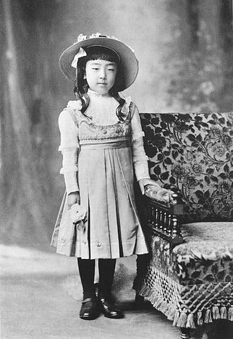 Empress Kōjun - Princess Nagako of Kuni in 1910 as a child
