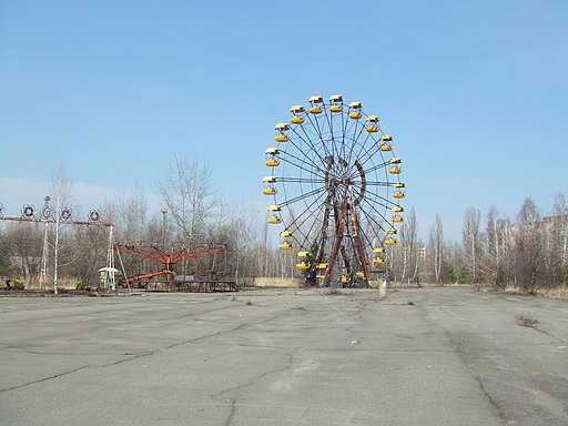 Pripyat - Abandoned funfair