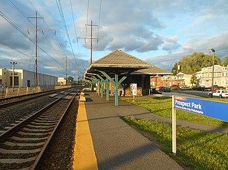 Prospect Park station (SEPTA) - Prospect Park station in June 2014.