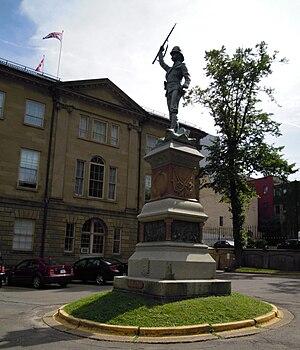 South African War Memorial (Halifax) - Boer War Monument, Province House